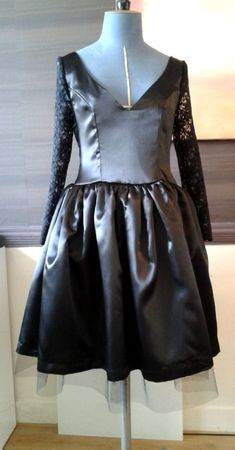 Robe mariée Hassinina noire