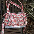 Mon sac java rouge et gris