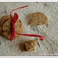 Pour changer des Zimtsterne et autres biscuits de Nol (1) : biscuits bucoliques aux 3 graines, sans bl