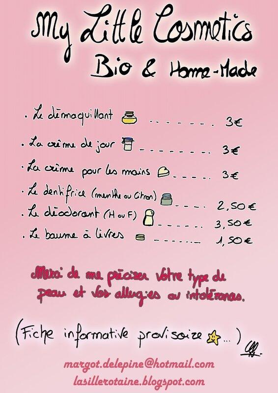 prix cosmetiques bio maison - Copie