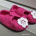 Tricoter la laine filz-it ! tuto : comment faire des chaussons en laine feutrée