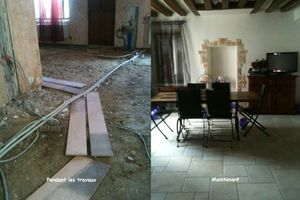travaux et carrelage final