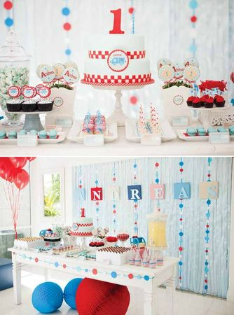 little-blue-truck-dessert-table