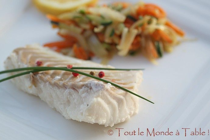 Comment cuire julienne poisson - Comment cuisiner le filet de cabillaud ...