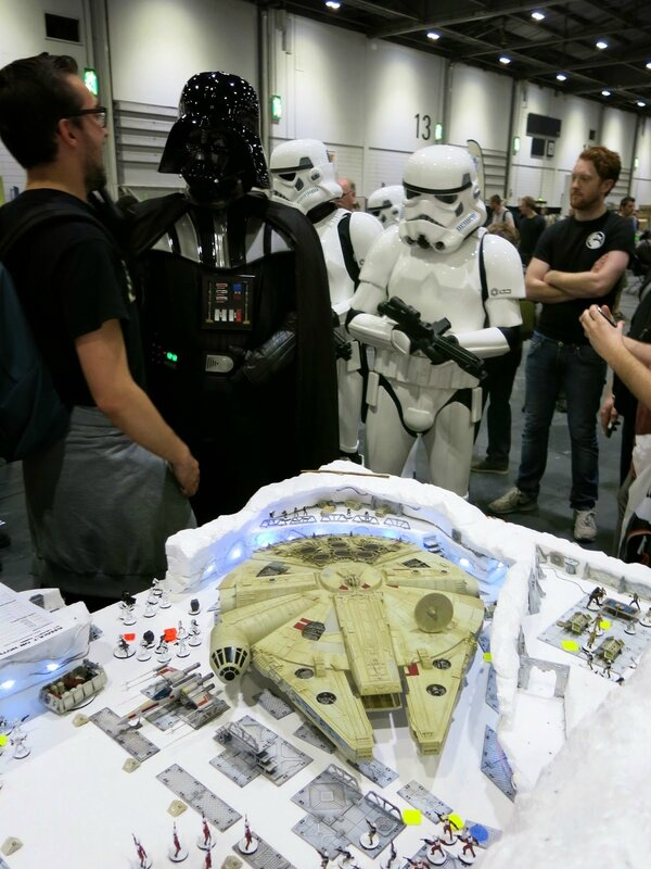 Battle of Hoth being inspected by Darth Vader (8)