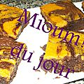 Brownies et butternut