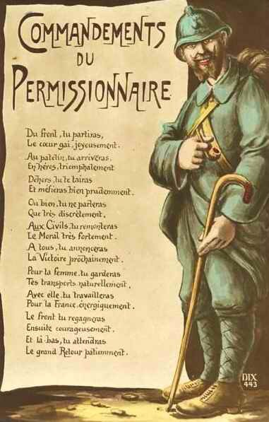 Commandements du permissionnaire