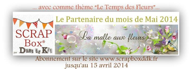 PARTENARIAT MAI 2014 La Malle Aux Fleurs