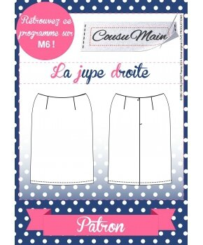 Made in Me Couture - Jupe Droite Cousu Main