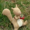 Un ecureuil gourmand....