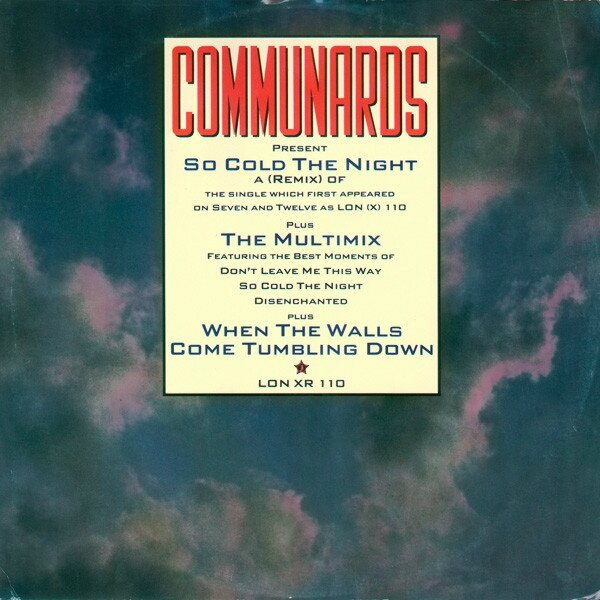 "The Communards - So Cold The Night (remix) (original 12"" sleeve))"