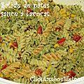 Salade de pâte mexicaine