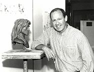 Glen Keane durant la production de Tarzan (1999)