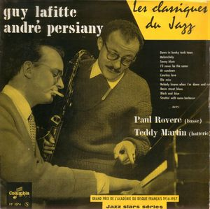 Guy Lafitte & André Persiany - 1956 - Les grand succes du jazz (Columbia)
