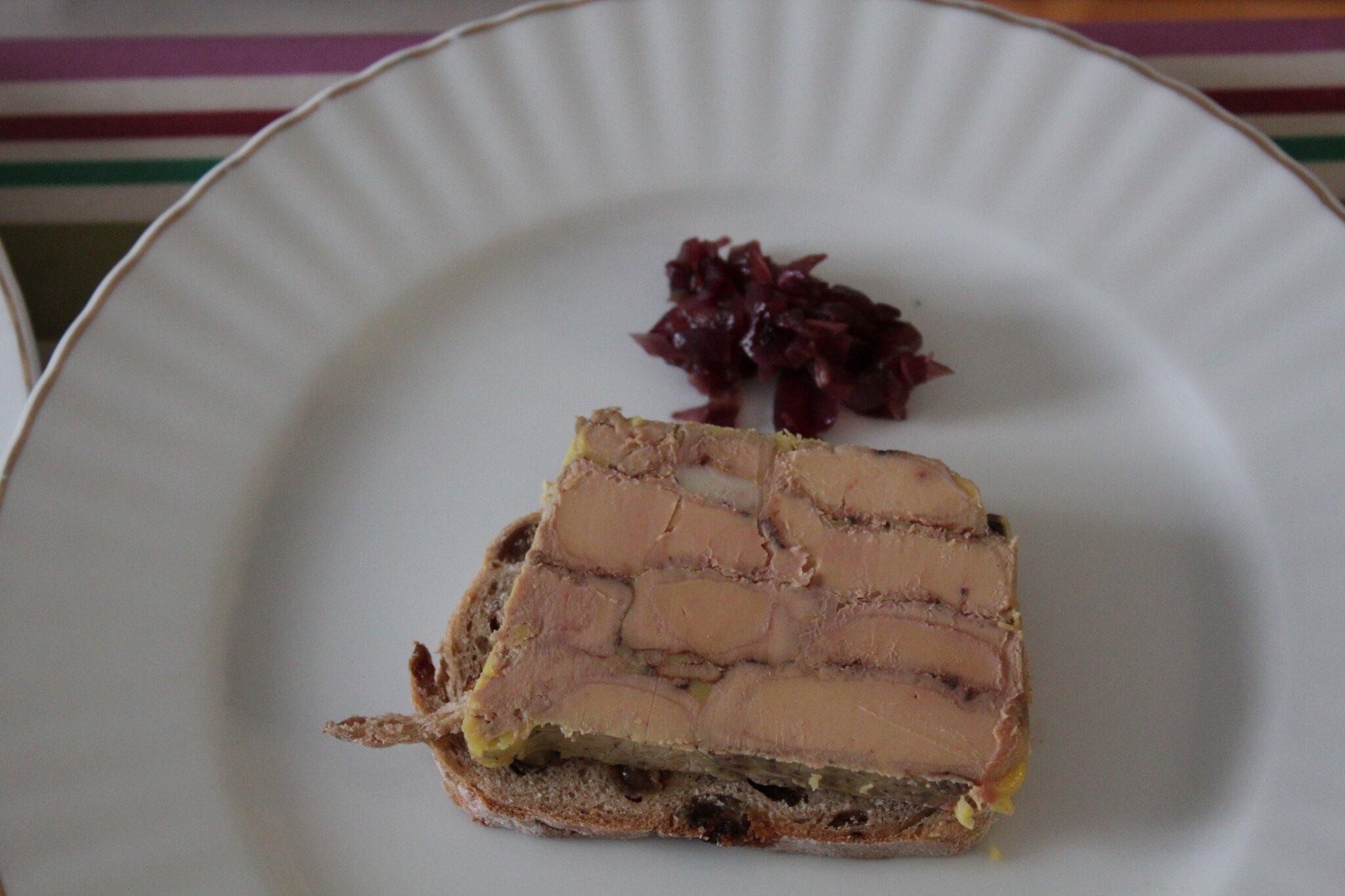 Terrine de foie gras po l ambiances culinaires - Cuisiner le foie de lotte ...