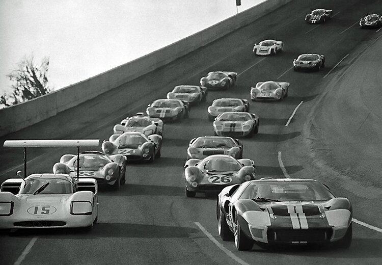 1967-Daytona-tour de formation