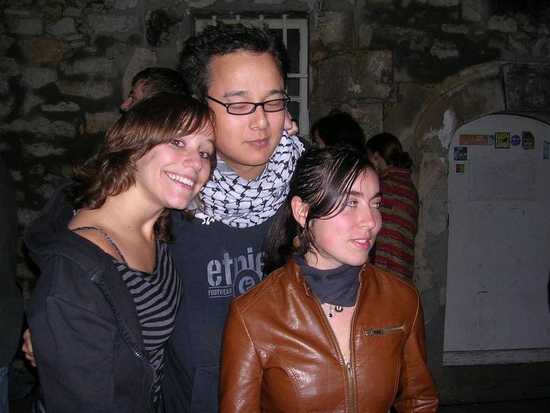 Julie, Dara et Anaïs