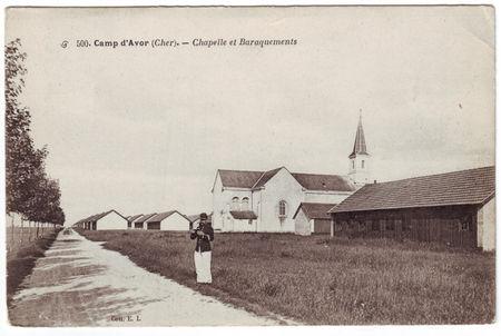 18___CAMP_D_AVOR___Chapelle_et_baraquements