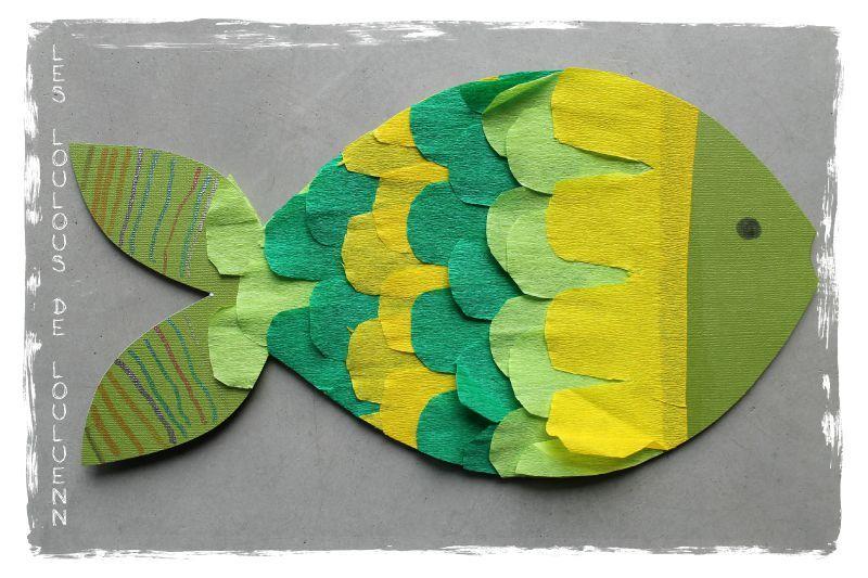 Bricolage papier crepon cu22 jornalagora - Activite avec papier crepon ...