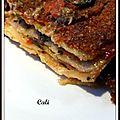 Lasagnes ratatouille - lasañas pisto