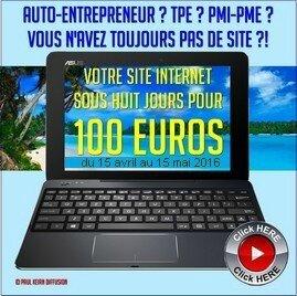 1 site à 100 euros