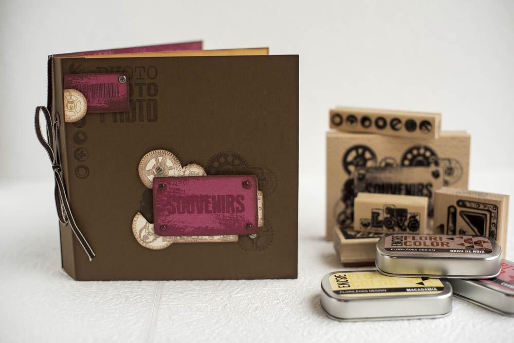 Découvrez la réalisation de Pat avec la collection Métal & Rouille
