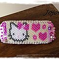 Barrette Hello Kitty
