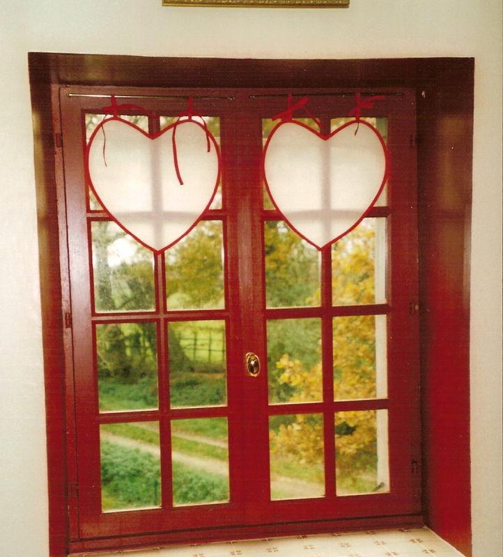 Chambre Vieux Rose Et Lin : Voilage Cuisine Rouge: Le plus amazing et aussi superbe rideaux …