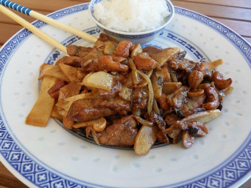 Porc sauté à la Chinoise1