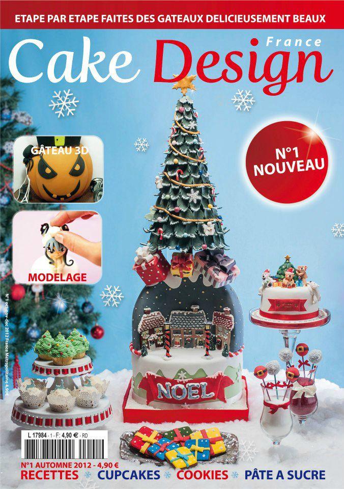 Lancement du 1er magazine fran ais sur le cake design for Design francais