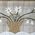 Bouquet floral de yoko saïto ,étape 12