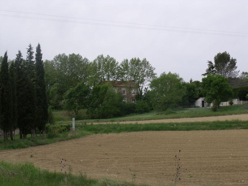 Célas PLM (Gard) vue depuis Célas ARM