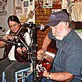 14 - Wayne Henderson et Helen White invités au studio Mary-Lou