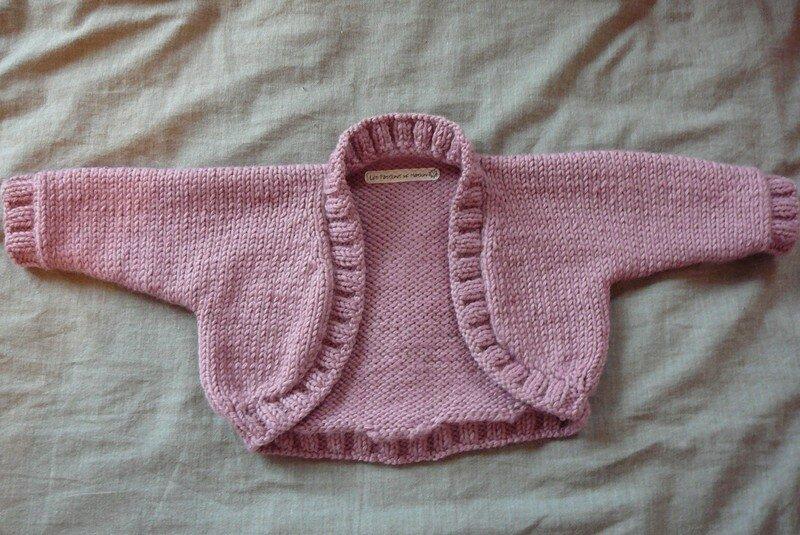 modele tricot bolero