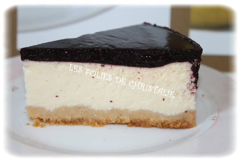 Cheesecake citron cassis 1