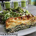 Lasagne épinards-ricotta au jambon cuit