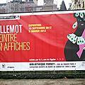 Exposition villemot peintre en affiches jusqu'au 5 janvier 2013