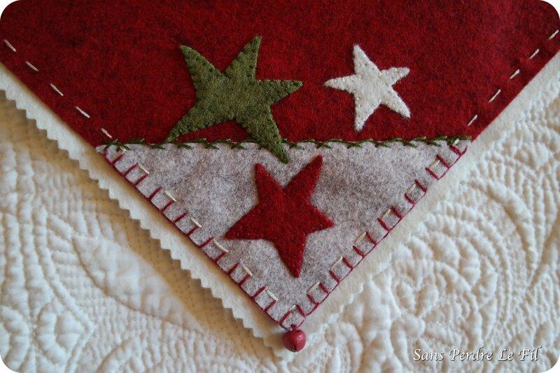 DIY tapis étoiles