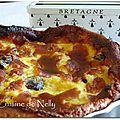 Far breton aux pruneaux