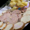 Menu d'amoureux : coeur de foie gras