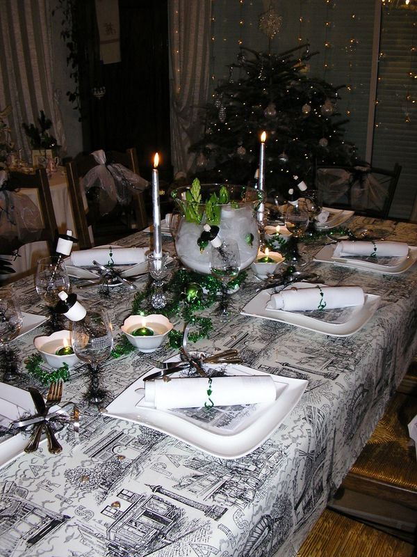 Les tables de f tes mumu et ses passions for Decoration reveillon nouvel an