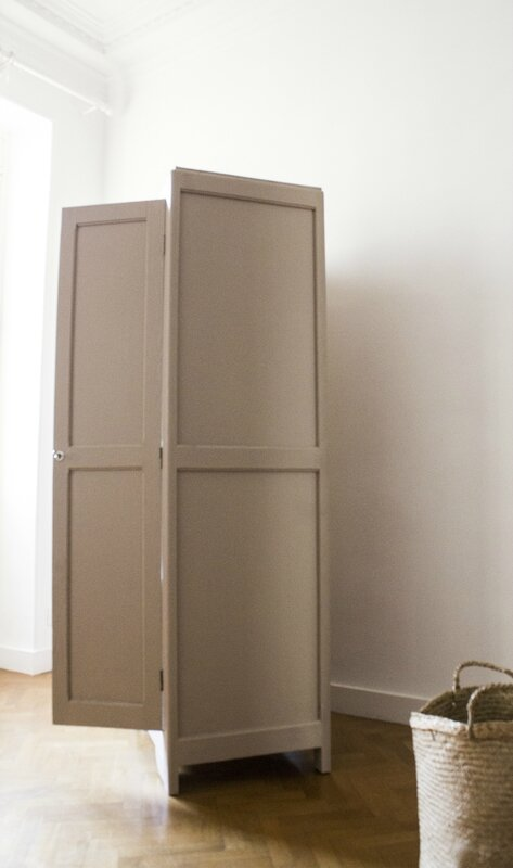 Armoire parisienne dead salmon farrow & ball TRENDY LITTLE 4