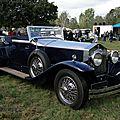 Rolls royce des années 30 à identifier