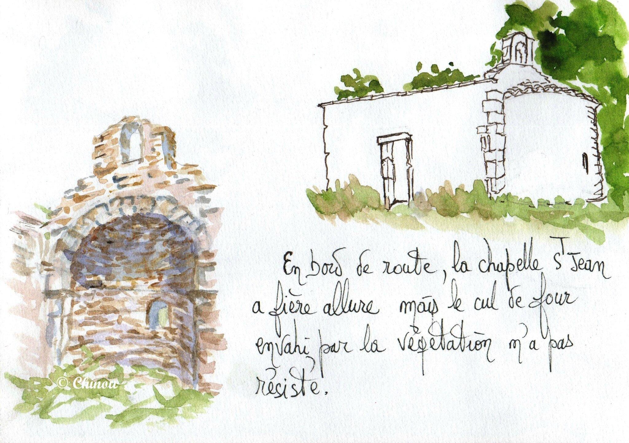 Chapelle St Jean Alleins