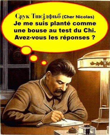 staline lettre