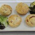 Escapade en cuisine - muffins jambon fromage