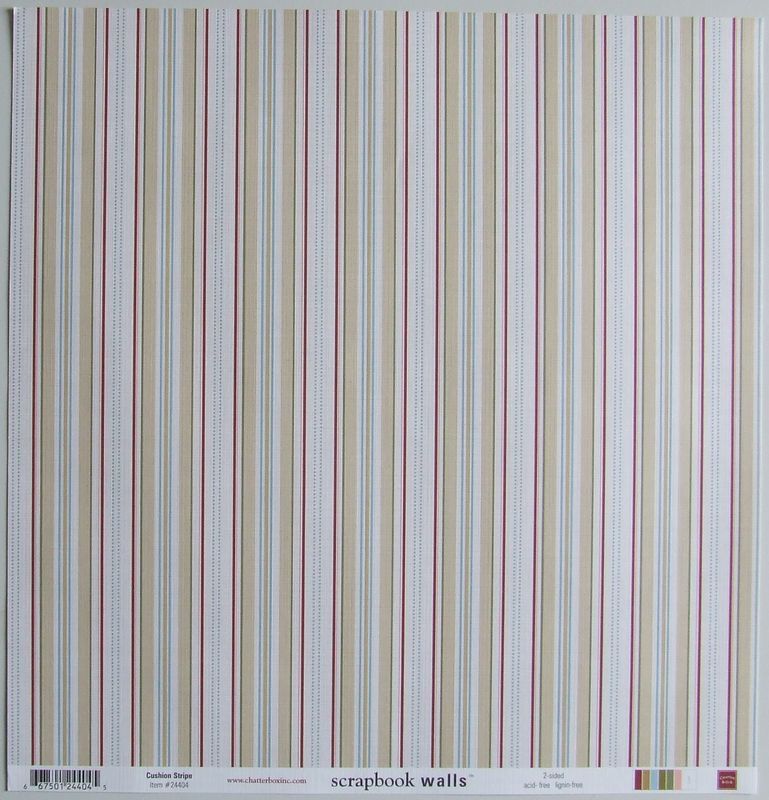 chatterbox loft cushion stripe