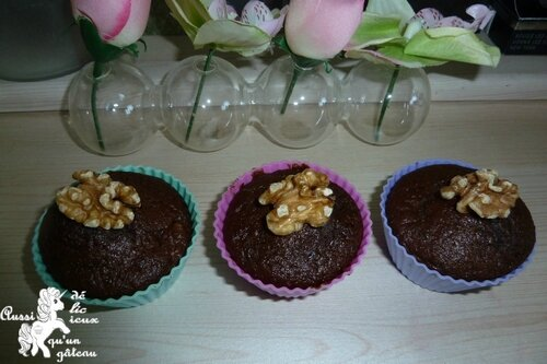 muffins choco courgette noix 31