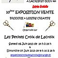 Salon lacroix saint ouen - les exposants!