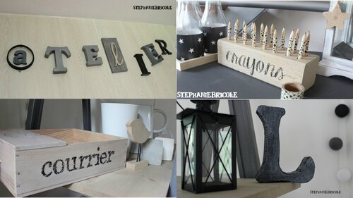 diy polices d criture gratuite pour d corer st phanie bricole. Black Bedroom Furniture Sets. Home Design Ideas